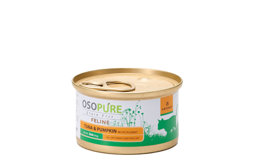 ARTEMIS アーテミス オソピュアグレインフリー ツナ&パンプキン缶 (猫用)製品イメージ