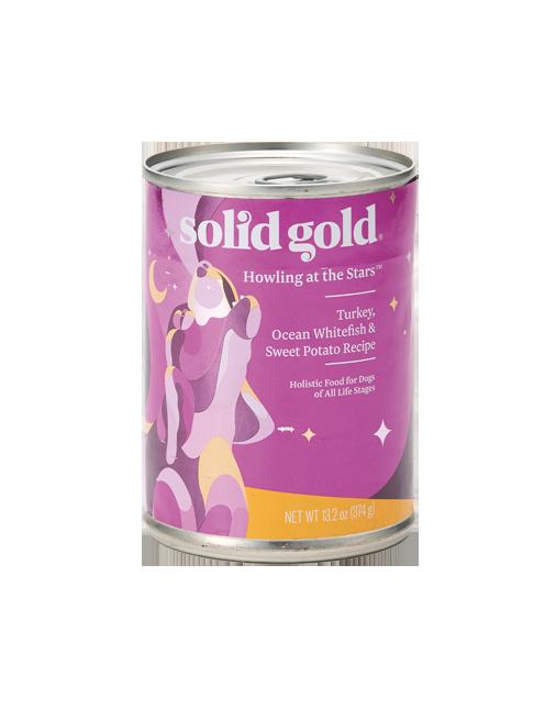 SOLID GOLD ソリッド ゴールド ターキー&フィッシュ缶 製品イメージ