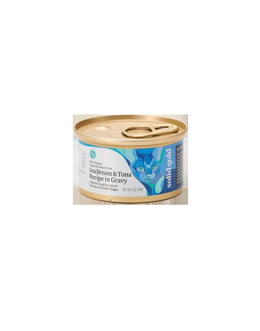 ソリッドゴールド タイ&ツナ缶(猫用)