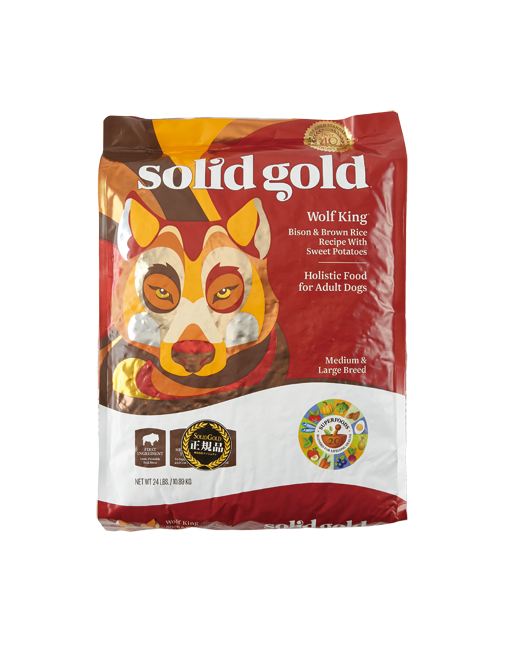 SOLID GOLD ソリッドゴールド ウルフキング