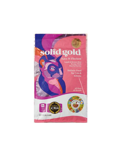SOLID GOLD ソリッドゴールド カッツフラッケン(猫用)