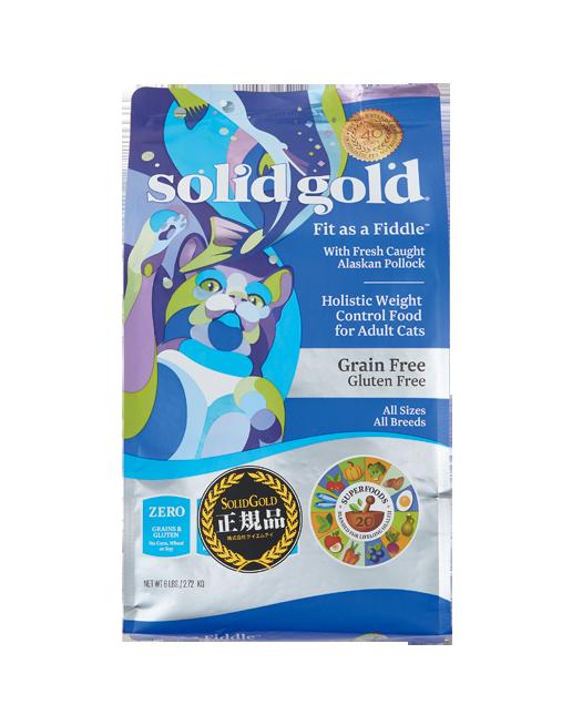 SOLID GOLD ソリッドゴールド フィット アズア フィドル(猫用)